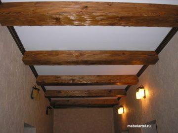 Балки деревянные