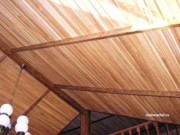 Балки состаренные деревянные
