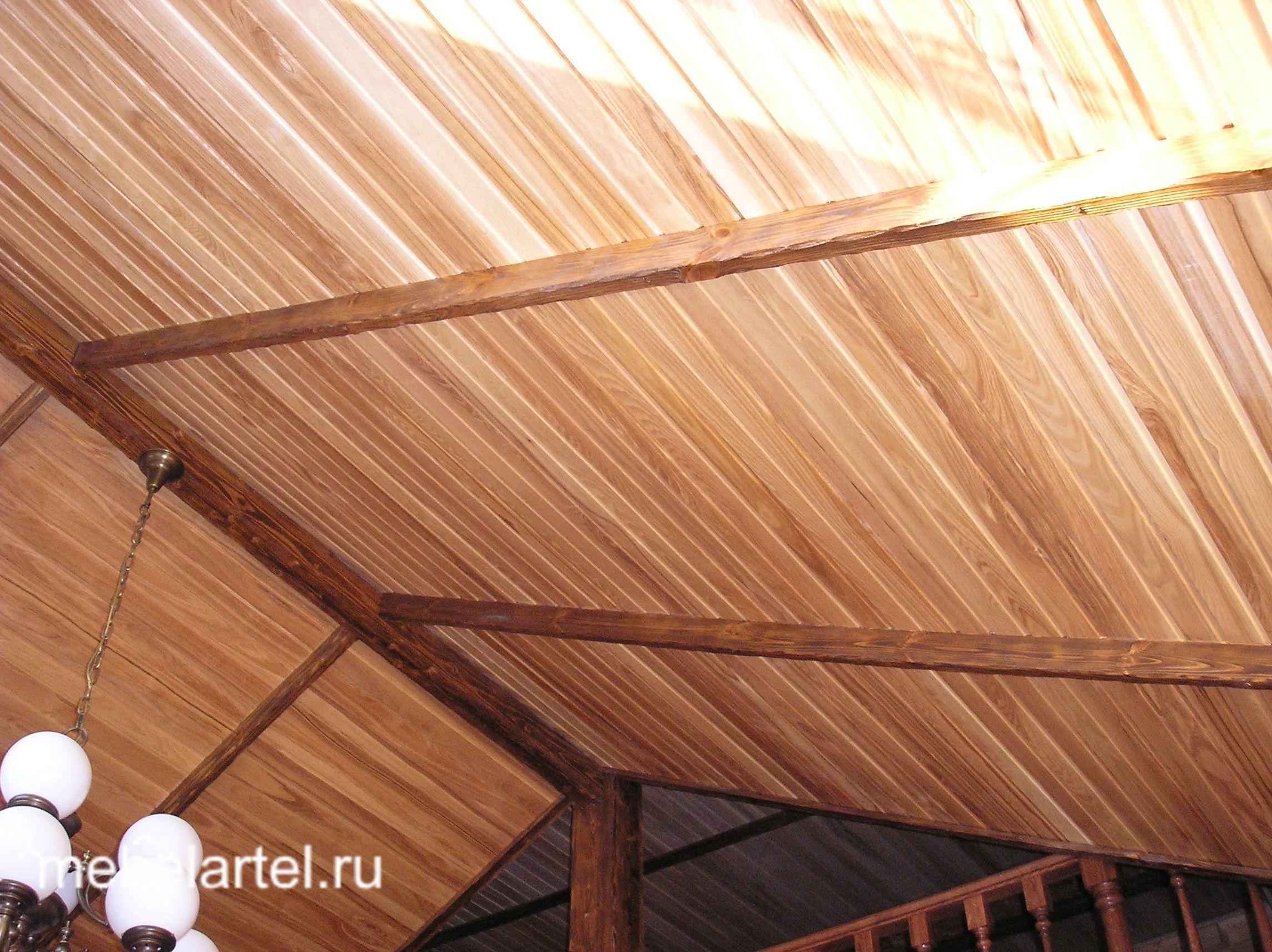 Изготовление декоративной балки из дерева