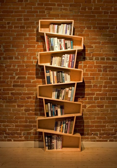 Лофт шкаф для книг