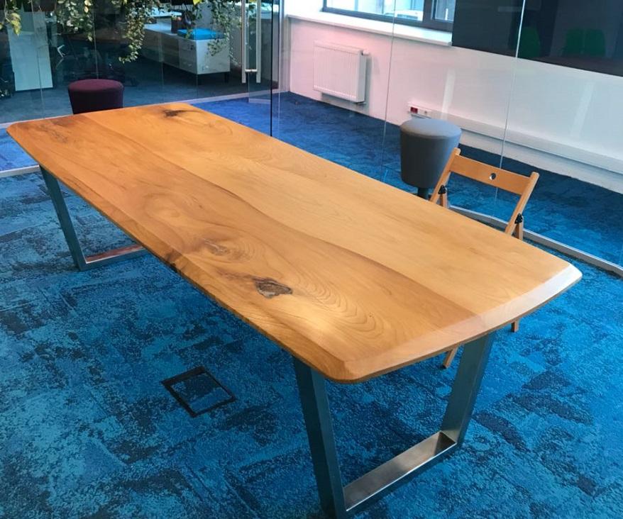 столы из слэба фото