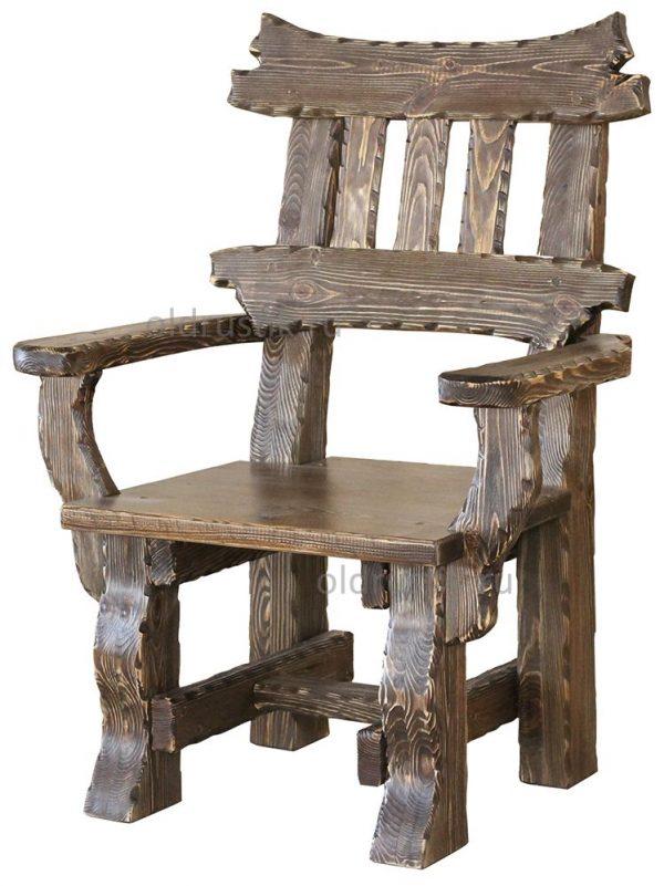 логотипа стул из дерева под старину картинки появляется