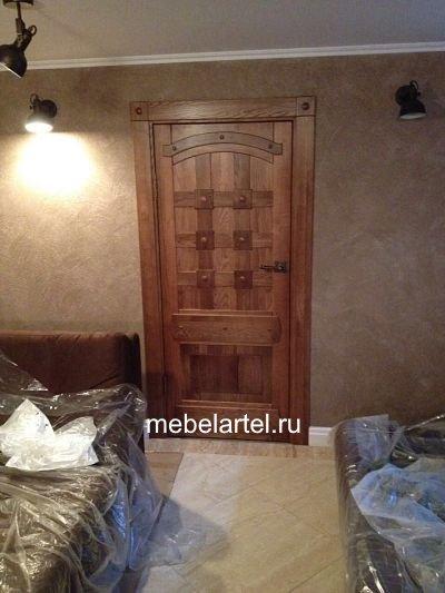 Дверь из массива сосны