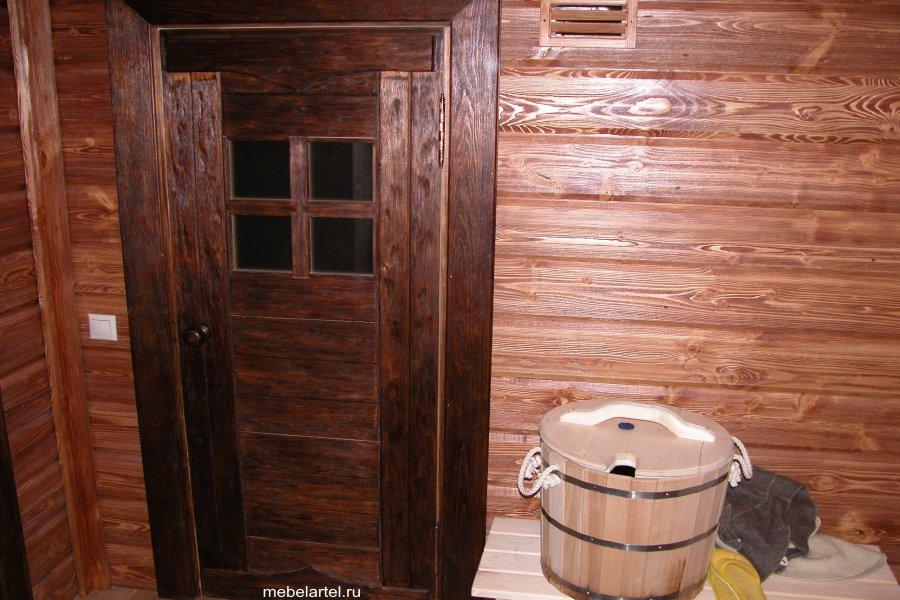 Межкомнатная дверь.Массив сосны