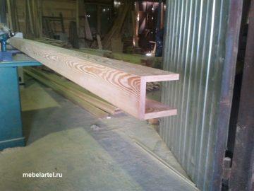 Балка деревянная, лиственница