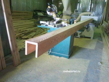 Балка деревянная, лиственница 2