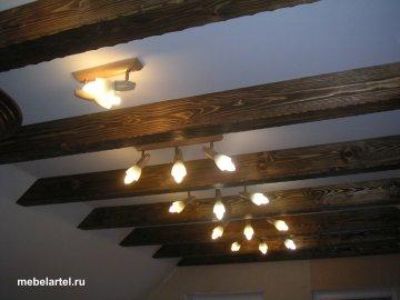 Балки декоративные из дерева