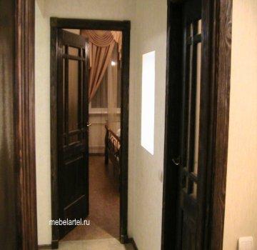 Деревянная межкомнатная дверь из сосны