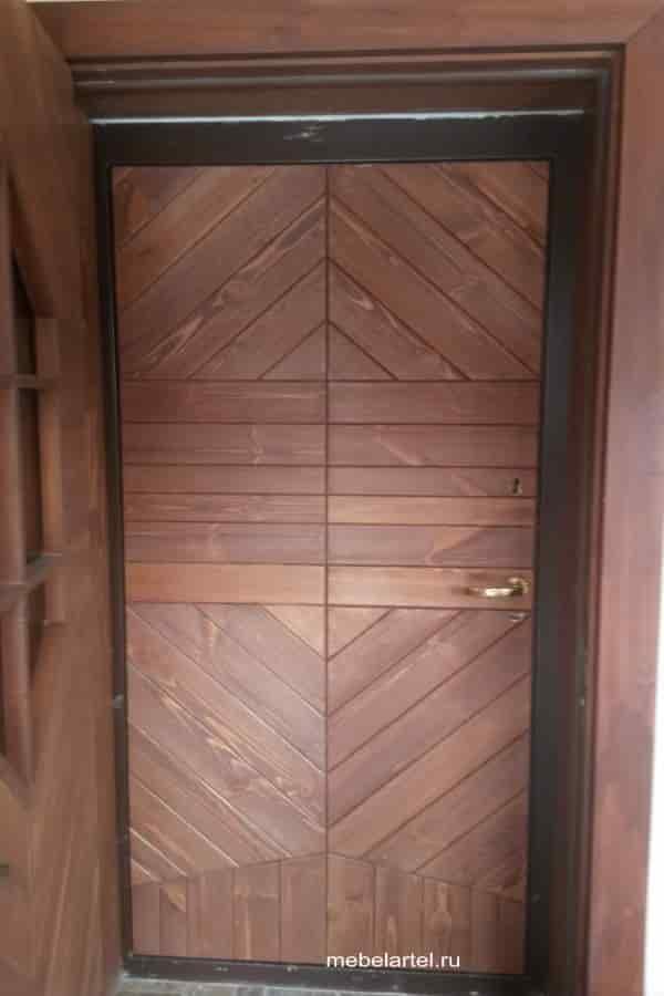 Панель на металлическую дверь