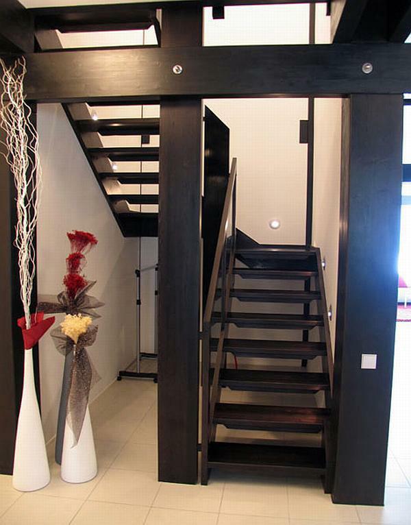Деревянная модульная лестница