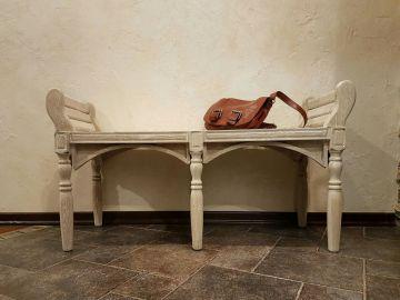 Столик в прихожую в стиле Лофт