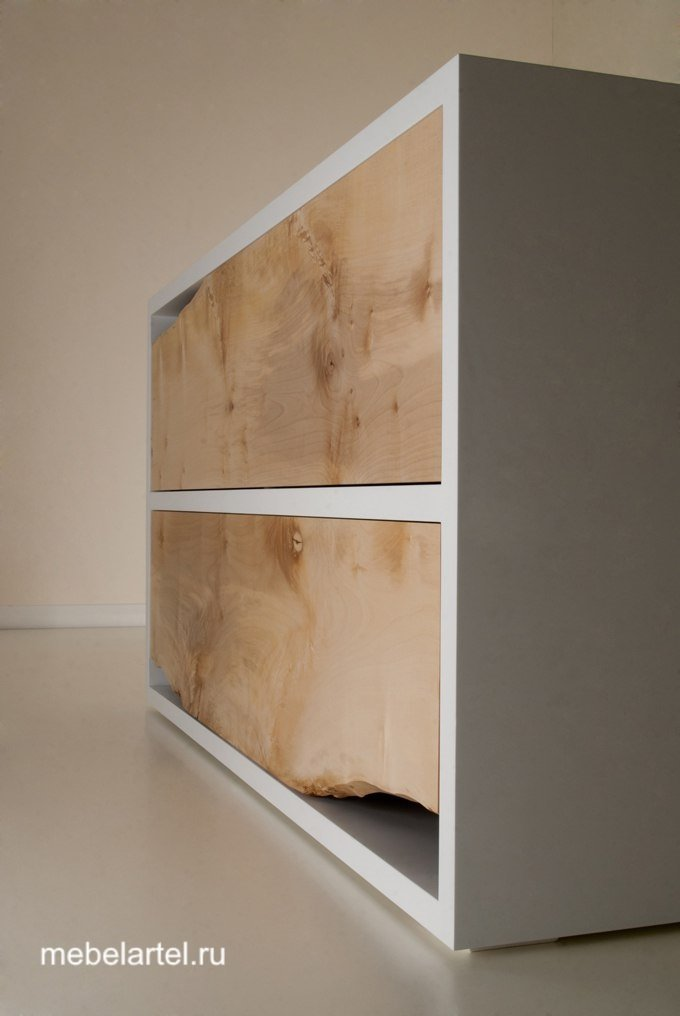 Шкаф с элементами слэба