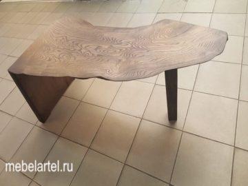 Стильный стол из слэба