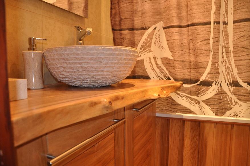 Столешница из слэба в ванную