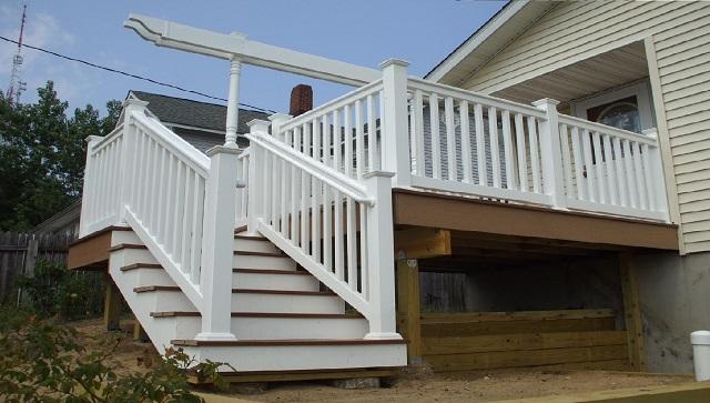 лестница в деревянный дом недорого