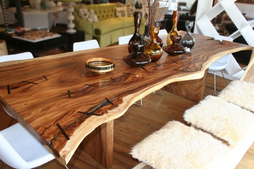 Rustic-Wood-Dining-Table-by-George-Nakashima